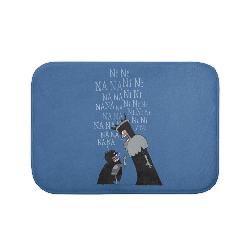 The Knights Who say.... Home Bath Mat by The Art of Anna-Maria Jung