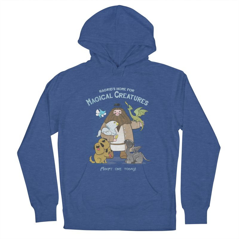 Hagrid's Home for Magical Creatures Men's French Terry Pullover Hoody by The Art of Anna-Maria Jung