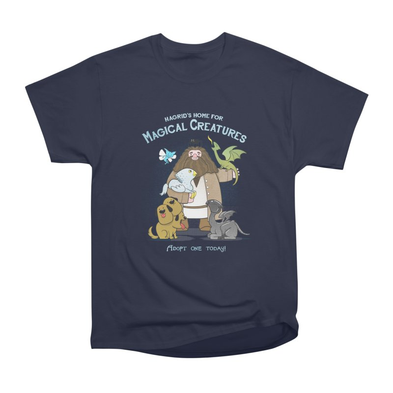 Hagrid's Home for Magical Creatures Women's Classic Unisex T-Shirt by The Art of Anna-Maria Jung