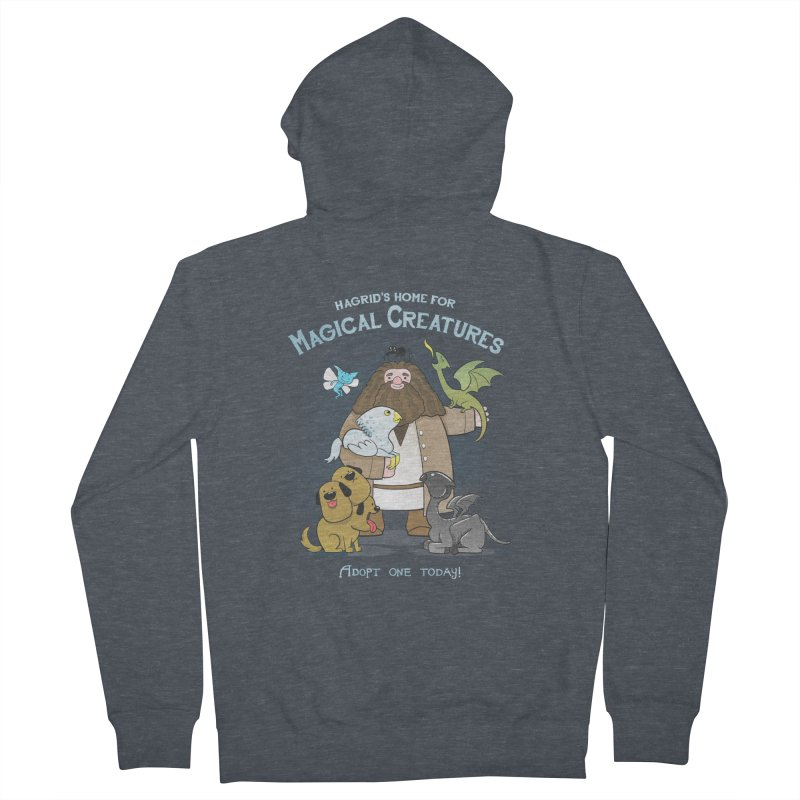 Hagrid's Home for Magical Creatures Men's Zip-Up Hoody by The Art of Anna-Maria Jung