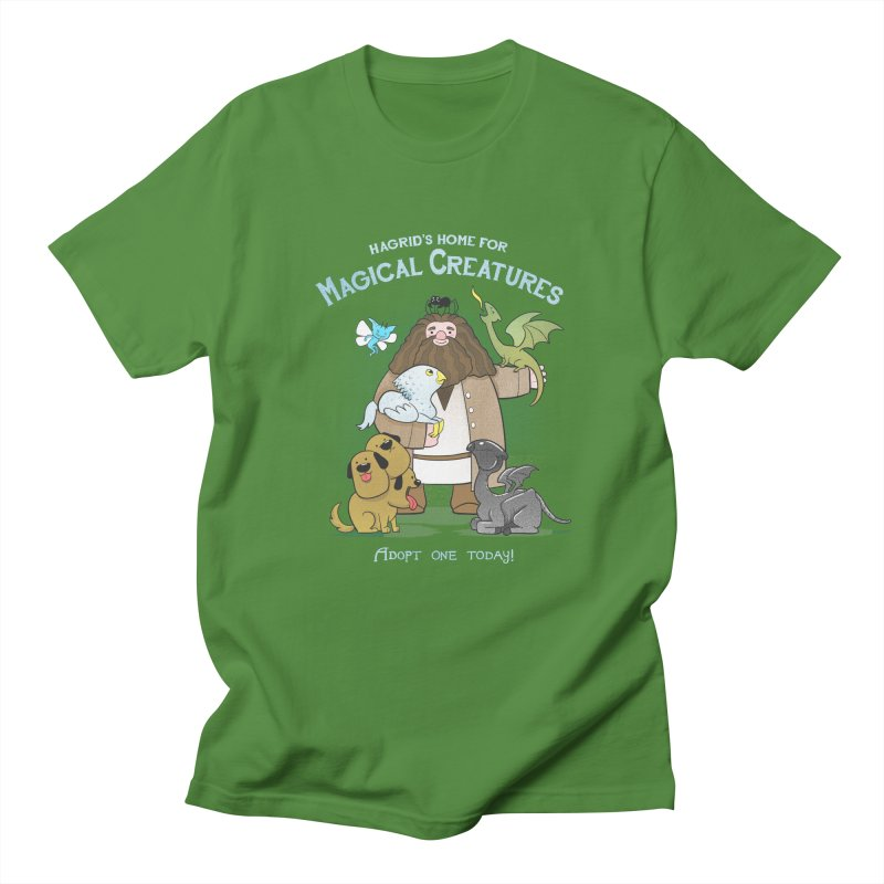 Hagrid's Home for Magical Creatures Men's T-shirt by The Art of Anna-Maria Jung