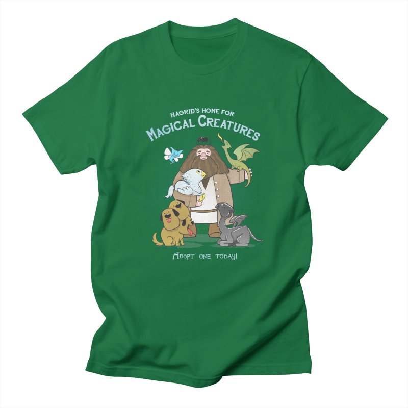 Hagrid's Home for Magical Creatures Men's Lounge Pants by The Art of Anna-Maria Jung