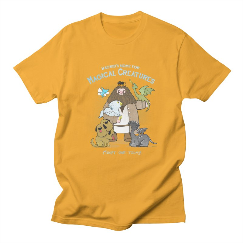Hagrid's Home for Magical Creatures Men's Regular T-Shirt by The Art of Anna-Maria Jung