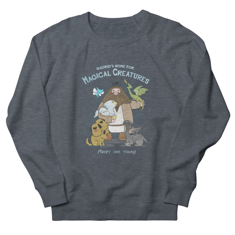 Hagrid's Home for Magical Creatures Women's French Terry Sweatshirt by The Art of Anna-Maria Jung