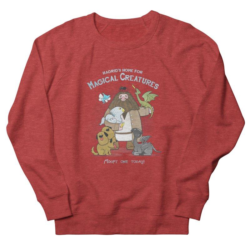 Hagrid's Home for Magical Creatures Men's French Terry Sweatshirt by The Art of Anna-Maria Jung