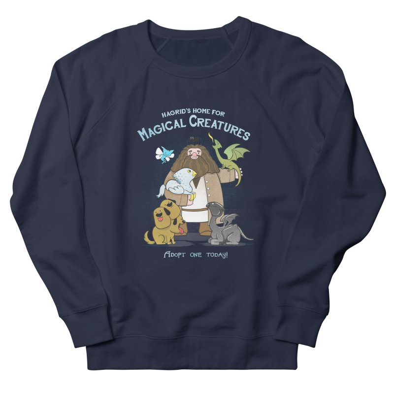Hagrid's Home for Magical Creatures Men's Sweatshirt by The Art of Anna-Maria Jung