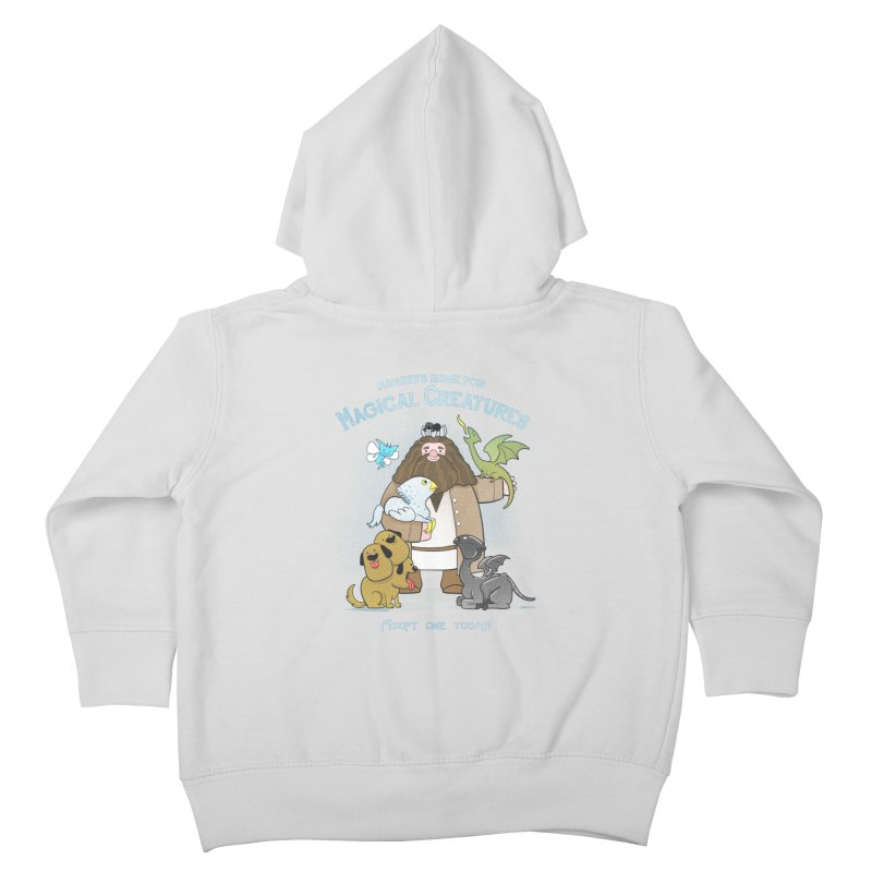 Hagrid's Home for Magical Creatures Kids Toddler Zip-Up Hoody by The Art of Anna-Maria Jung