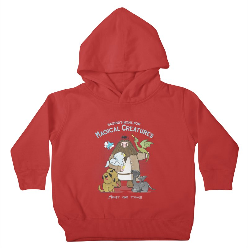 Hagrid's Home for Magical Creatures Kids Toddler Pullover Hoody by The Art of Anna-Maria Jung