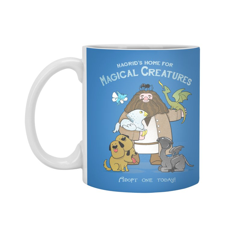 Hagrid's Home for Magical Creatures Accessories Mug by The Art of Anna-Maria Jung