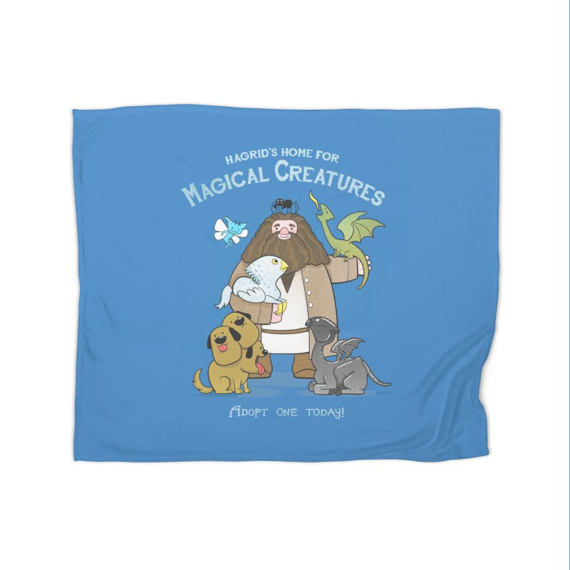 Hagrid's Home for Magical Creatures Home Blanket by The Art of Anna-Maria Jung