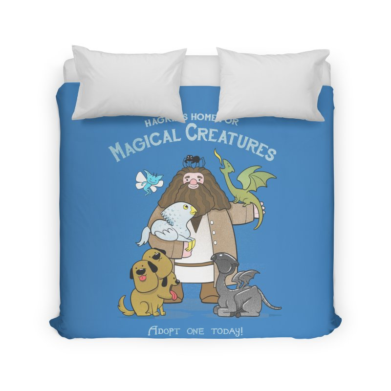 Hagrid's Home for Magical Creatures Home Duvet by The Art of Anna-Maria Jung
