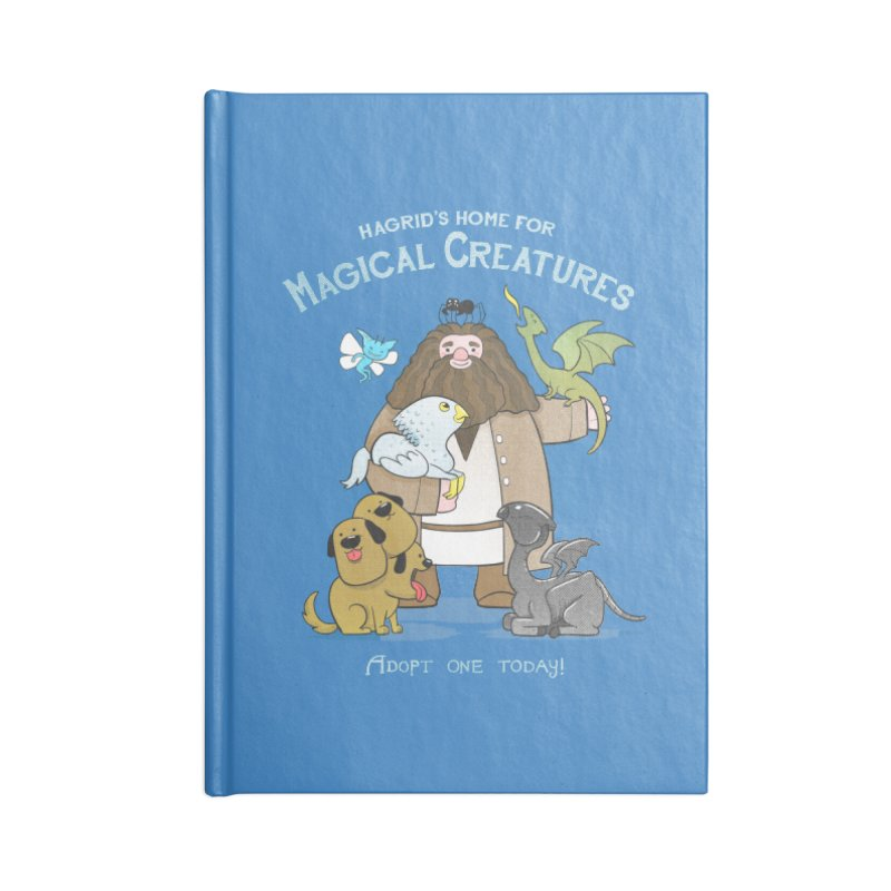 Hagrid's Home for Magical Creatures Accessories Notebook by The Art of Anna-Maria Jung