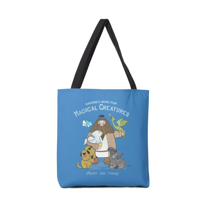 Hagrid's Home for Magical Creatures Accessories Bag by The Art of Anna-Maria Jung