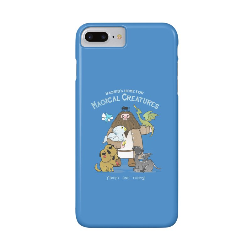Hagrid's Home for Magical Creatures Accessories Phone Case by The Art of Anna-Maria Jung