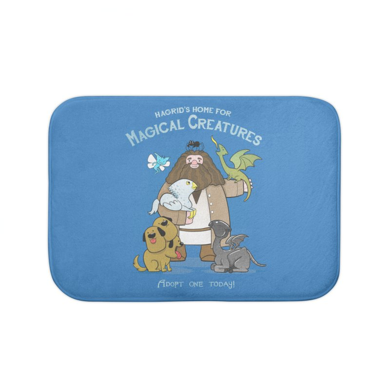 Hagrid's Home for Magical Creatures Home Bath Mat by The Art of Anna-Maria Jung