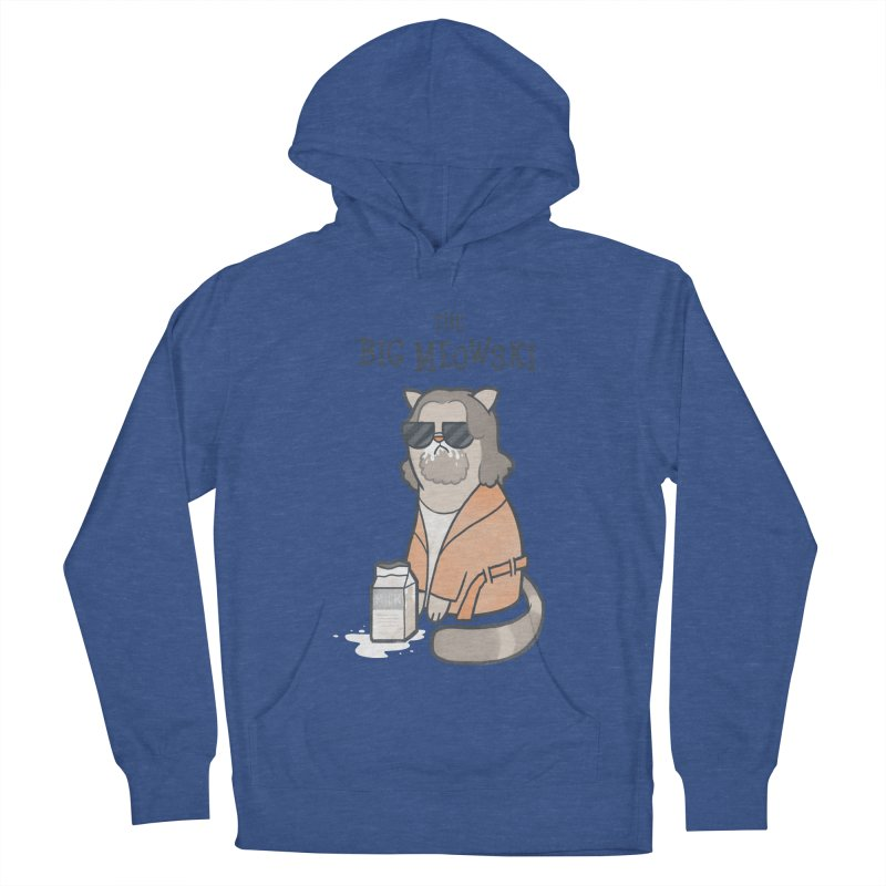The Big Meowski Women's Pullover Hoody by The Art of Anna-Maria Jung