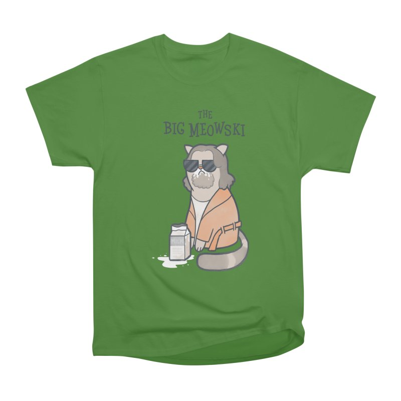The Big Meowski Men's Classic T-Shirt by The Art of Anna-Maria Jung