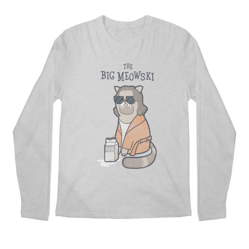The Big Meowski Men's Regular Longsleeve T-Shirt by The Art of Anna-Maria Jung