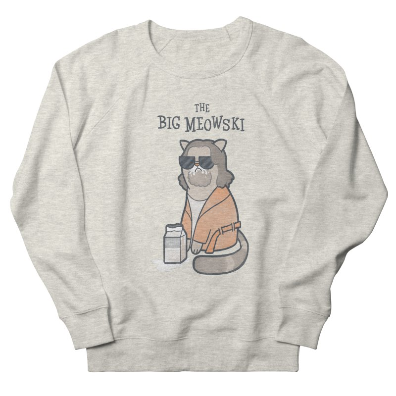 The Big Meowski Women's Sweatshirt by The Art of Anna-Maria Jung