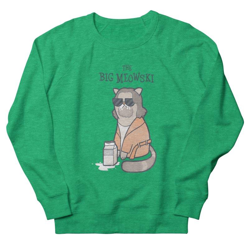 The Big Meowski Men's Sweatshirt by The Art of Anna-Maria Jung