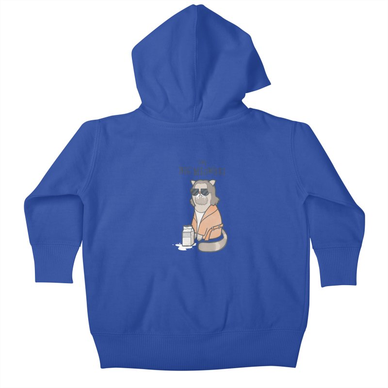 The Big Meowski Kids Baby Zip-Up Hoody by The Art of Anna-Maria Jung