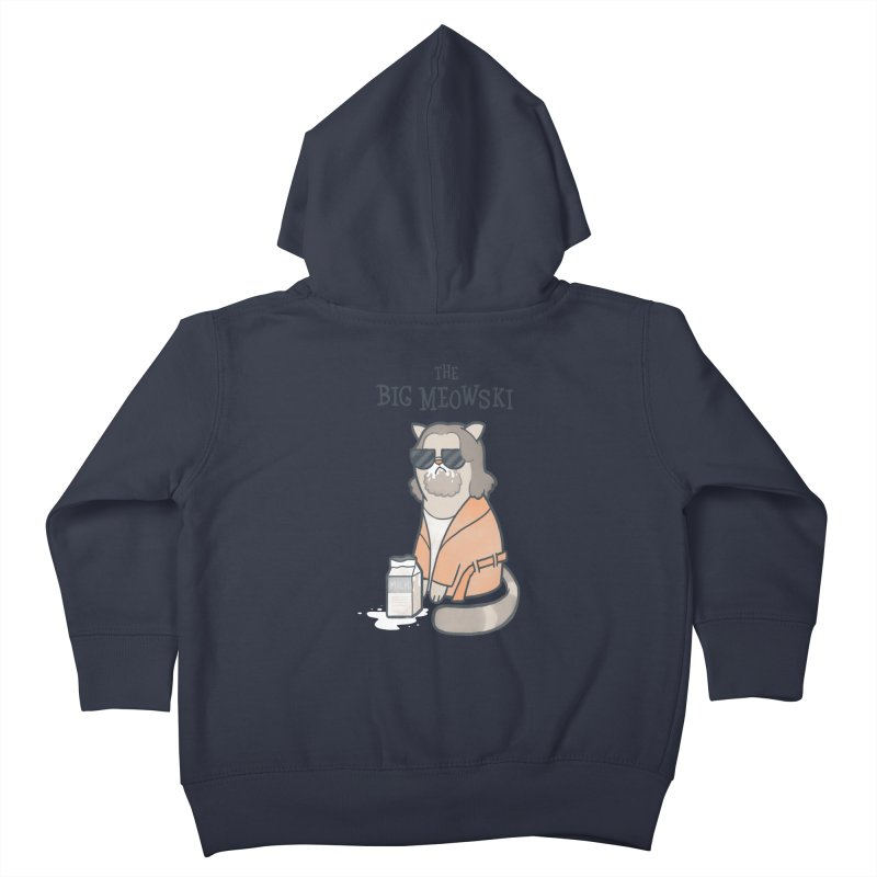 The Big Meowski Kids Toddler Zip-Up Hoody by The Art of Anna-Maria Jung