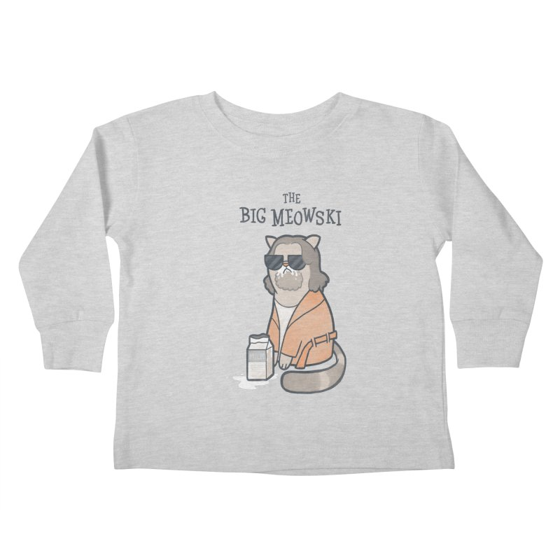 The Big Meowski Kids Toddler Longsleeve T-Shirt by The Art of Anna-Maria Jung