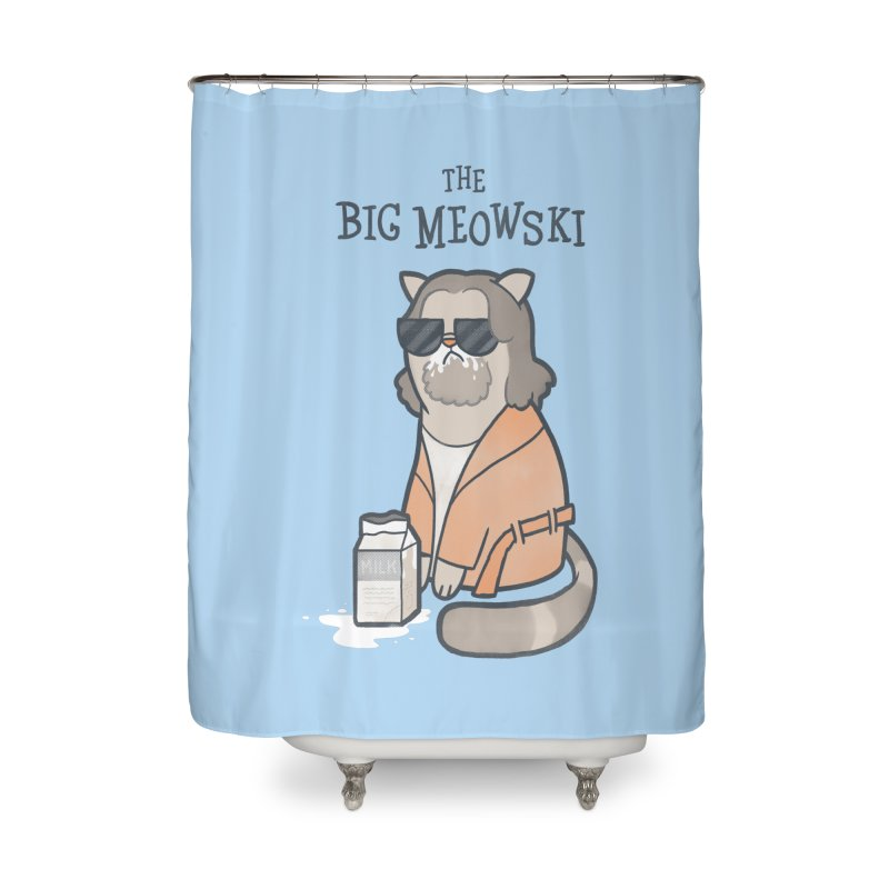 The Big Meowski Home Shower Curtain by The Art of Anna-Maria Jung