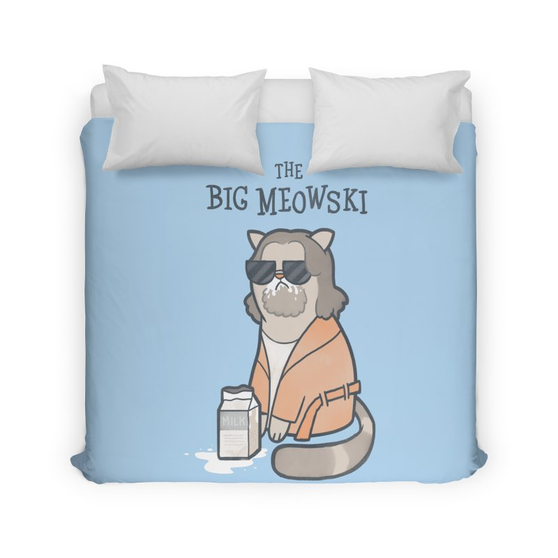 The Big Meowski Home Duvet by The Art of Anna-Maria Jung