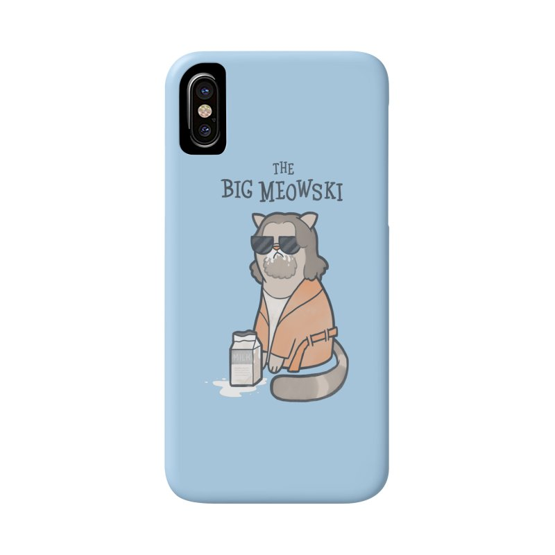 The Big Meowski Accessories Phone Case by The Art of Anna-Maria Jung