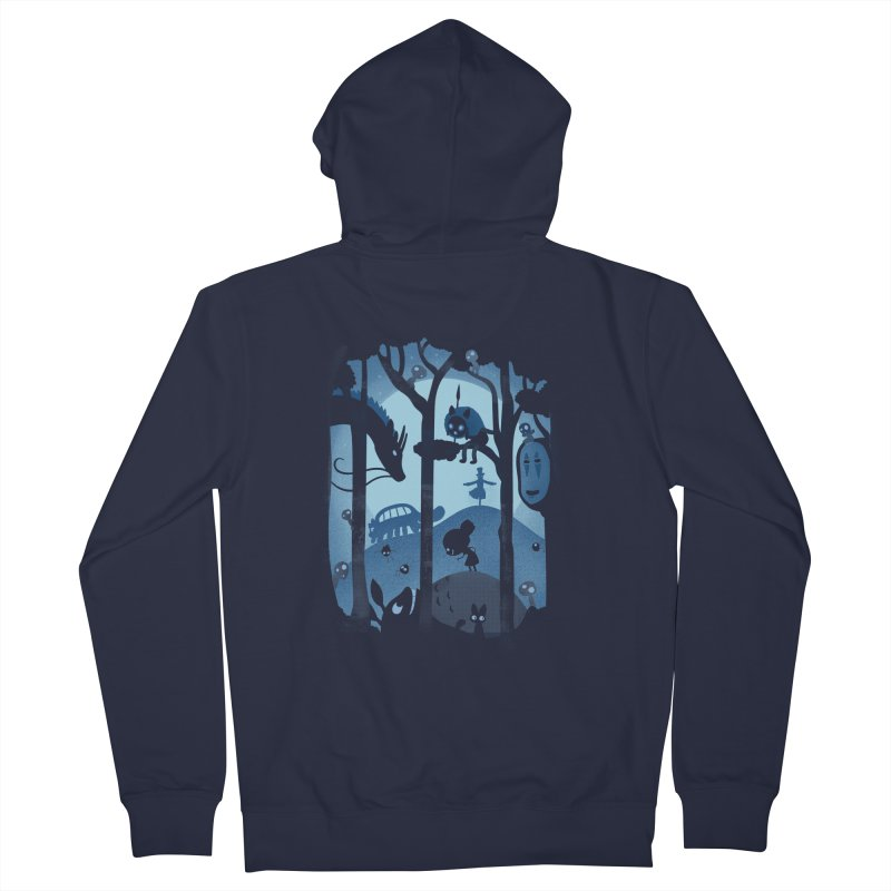 Magical Gathering Men's Zip-Up Hoody by The Art of Anna-Maria Jung