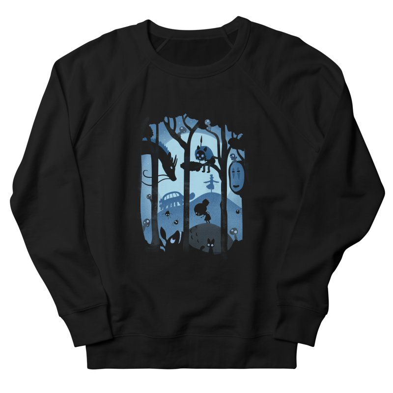 Magical Gathering Women's French Terry Sweatshirt by The Art of Anna-Maria Jung
