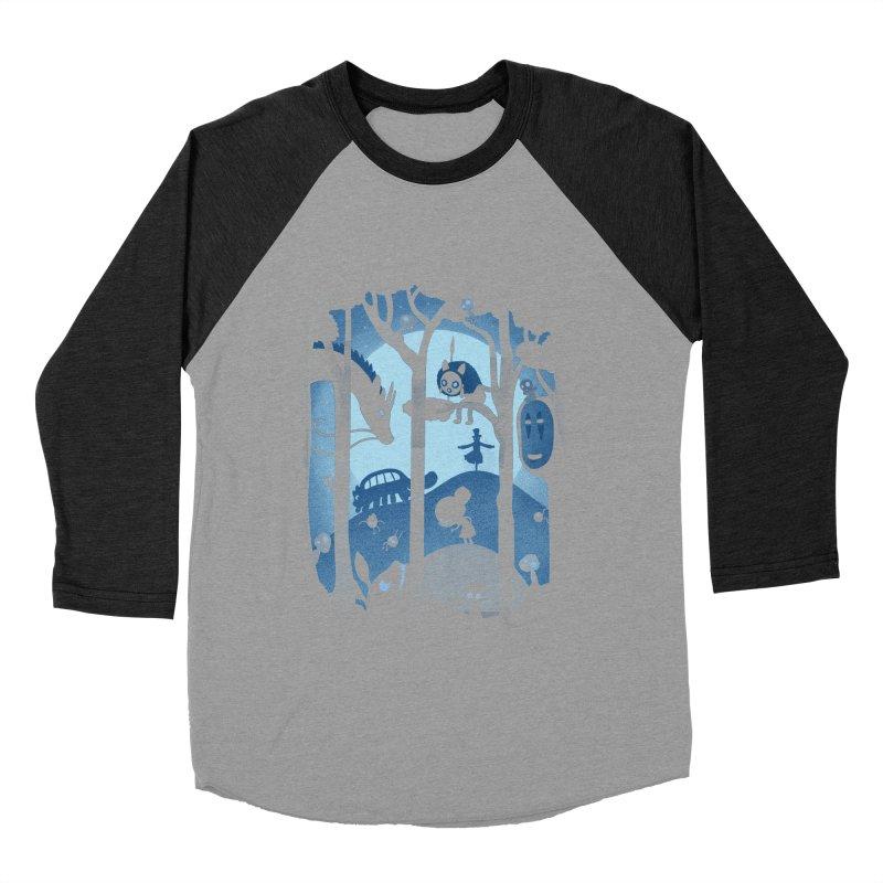 Magical Gathering Women's Baseball Triblend T-Shirt by The Art of Anna-Maria Jung