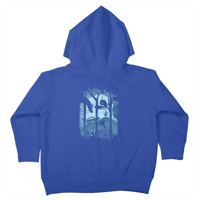 Magical Gathering Kids Toddler Zip-Up Hoody by The Art of Anna-Maria Jung
