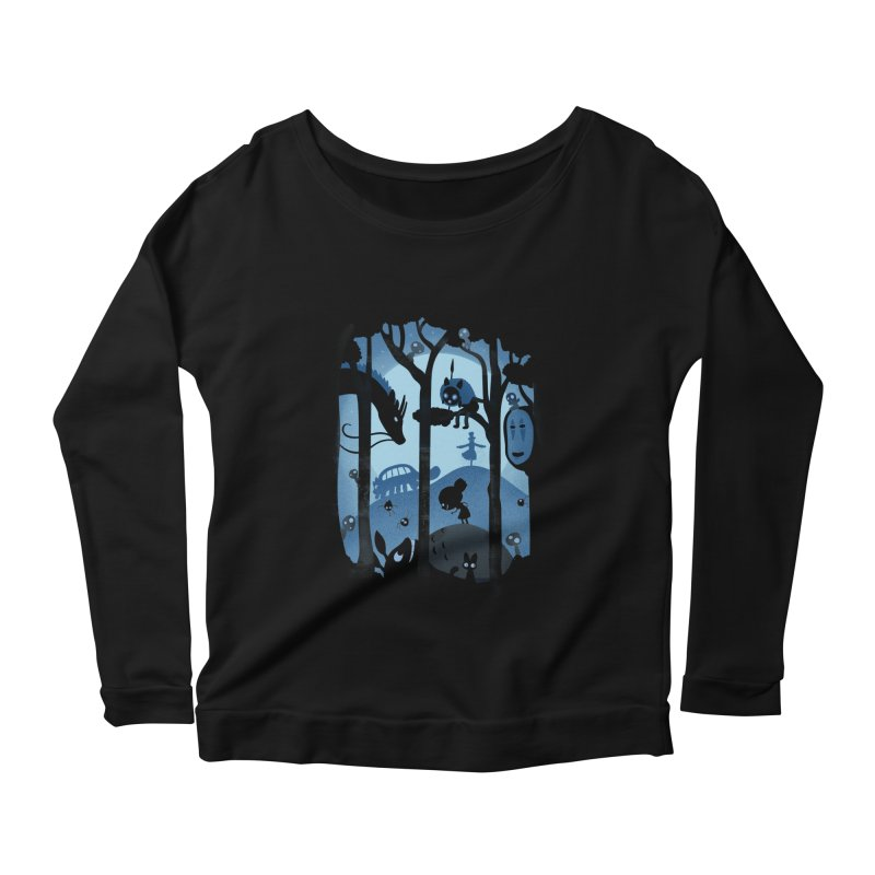 Magical Gathering Women's Longsleeve Scoopneck  by The Art of Anna-Maria Jung