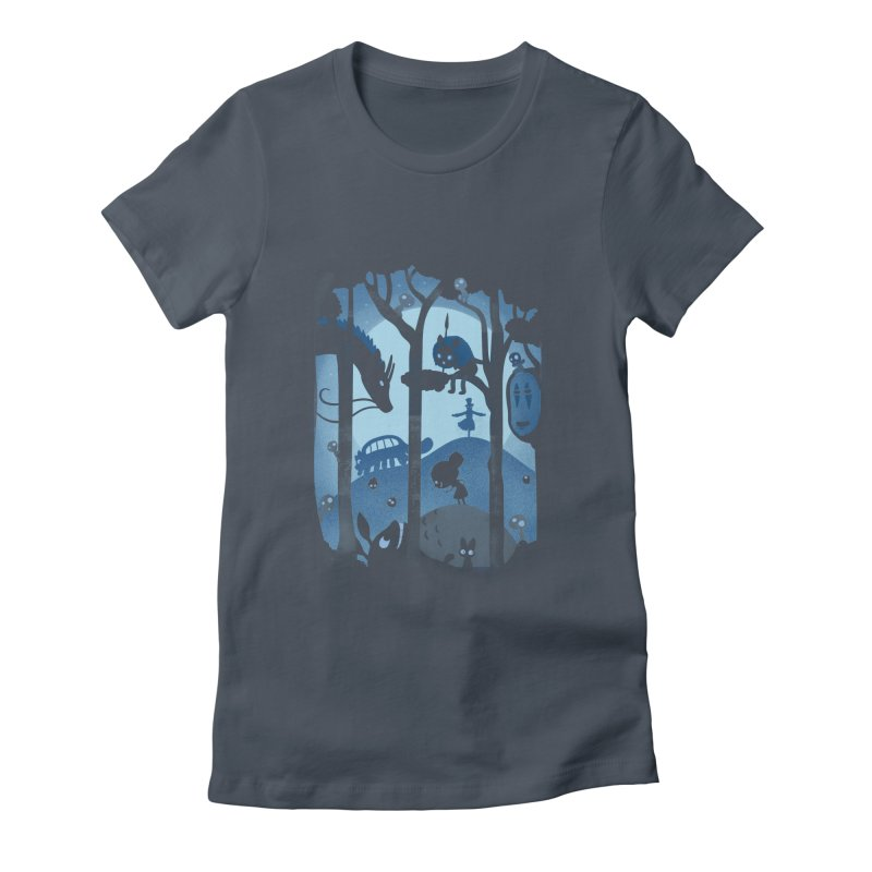 Magical Gathering Women's Fitted T-Shirt by The Art of Anna-Maria Jung