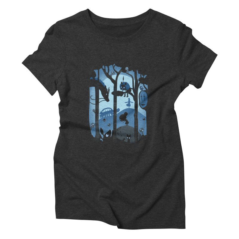 Magical Gathering Women's Triblend T-Shirt by The Art of Anna-Maria Jung