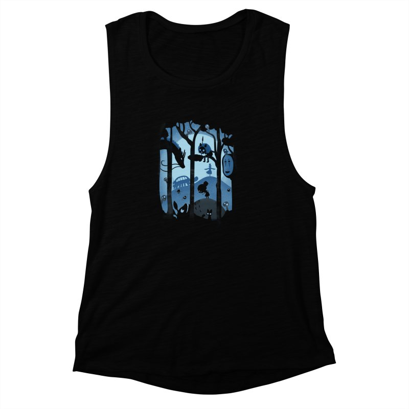 Magical Gathering Women's Muscle Tank by The Art of Anna-Maria Jung