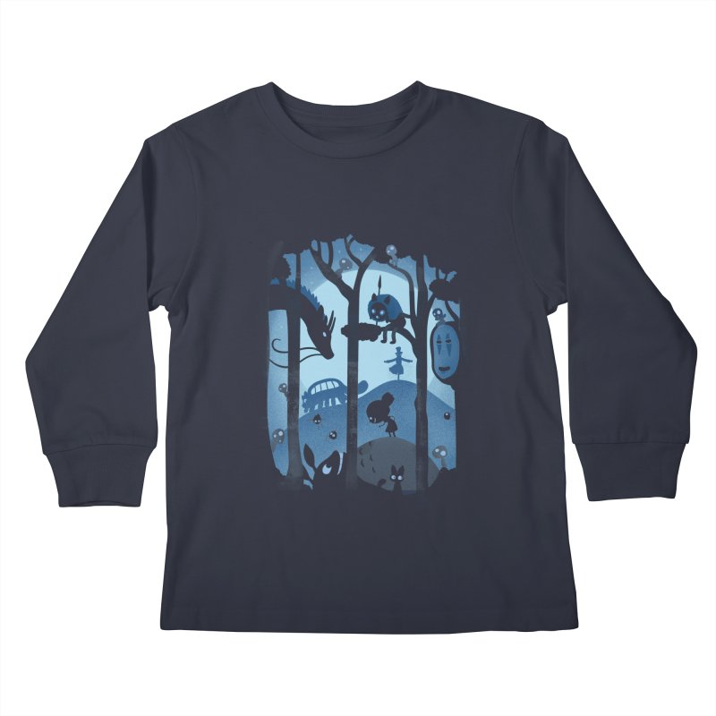 Magical Gathering Kids Longsleeve T-Shirt by The Art of Anna-Maria Jung
