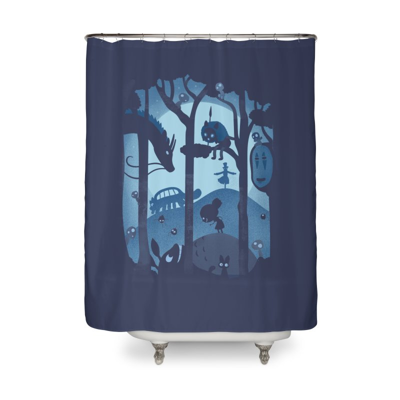 Magical Gathering Home Shower Curtain by The Art of Anna-Maria Jung