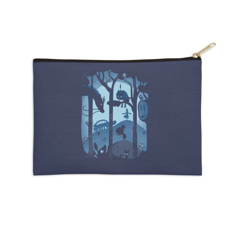 Magical Gathering Accessories Zip Pouch by The Art of Anna-Maria Jung