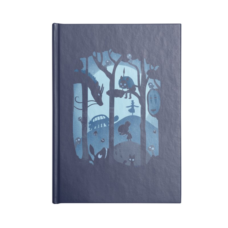 Magical Gathering Accessories Notebook by The Art of Anna-Maria Jung