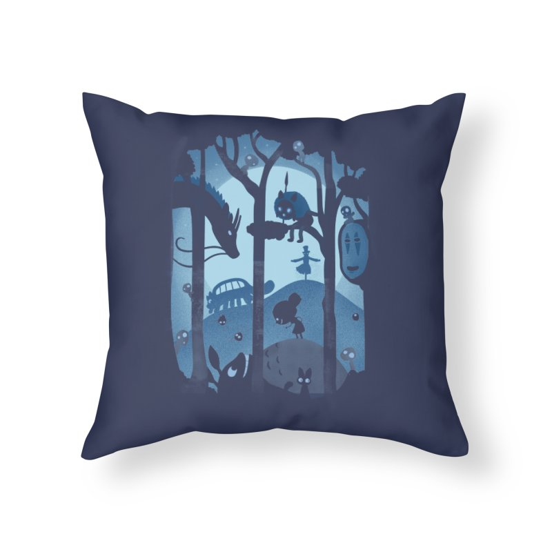 Magical Gathering Home Throw Pillow by The Art of Anna-Maria Jung
