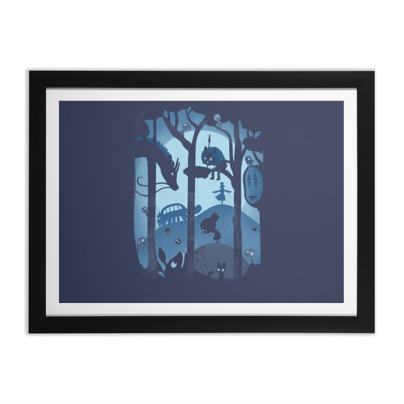 Magical Gathering Home Framed Fine Art Print by The Art of Anna-Maria Jung