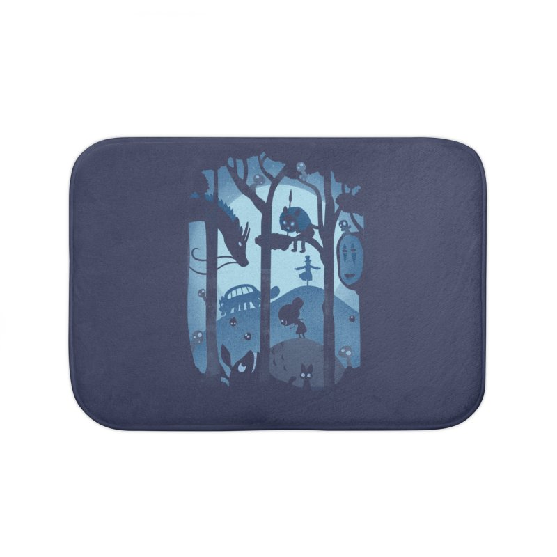 Magical Gathering Home Bath Mat by The Art of Anna-Maria Jung