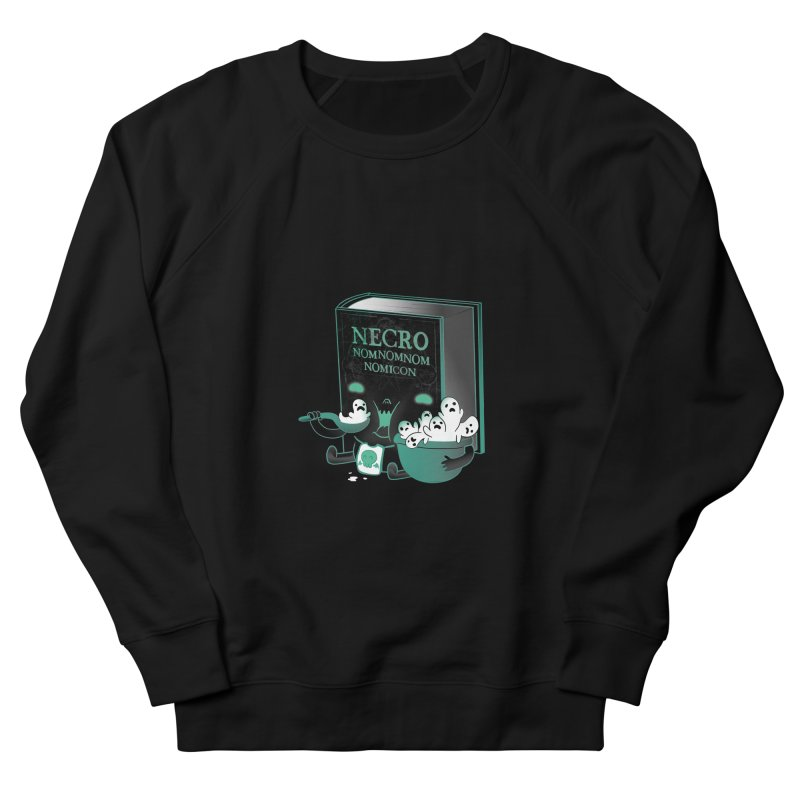 Necronomnomnomicon Women's French Terry Sweatshirt by The Art of Anna-Maria Jung