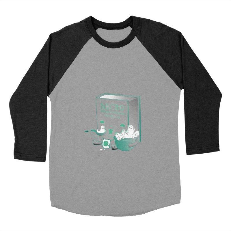 Necronomnomnomicon Women's Baseball Triblend T-Shirt by The Art of Anna-Maria Jung