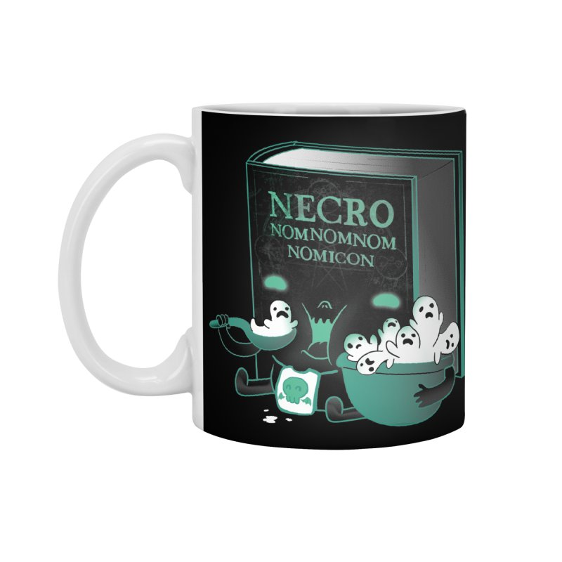 Necronomnomnomicon Accessories Mug by The Art of Anna-Maria Jung