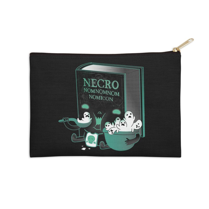 Necronomnomnomicon Accessories Zip Pouch by The Art of Anna-Maria Jung