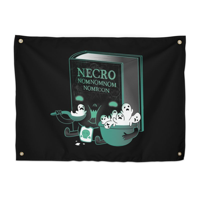 Necronomnomnomicon Home Tapestry by The Art of Anna-Maria Jung